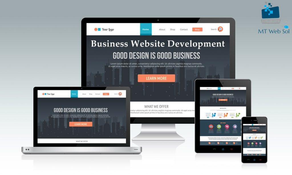 Business Website Development Service by MT Web Sol