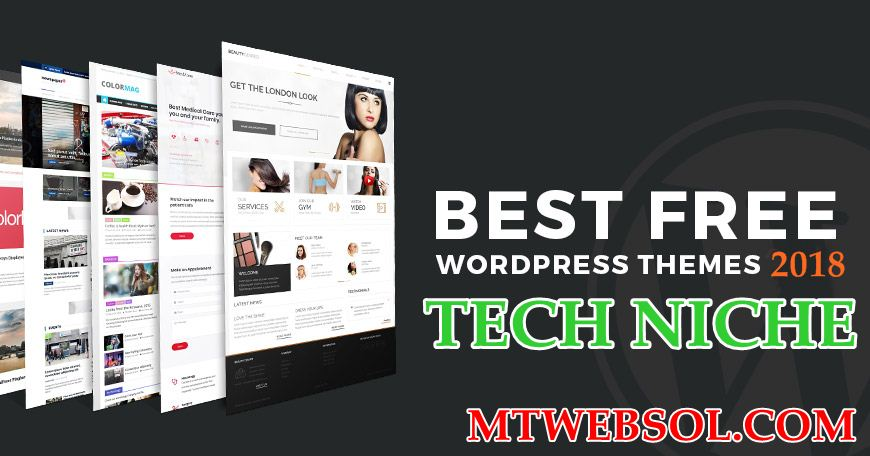 Download Top 5 Best Free Wordpress Themes for Tech Niche Blogs