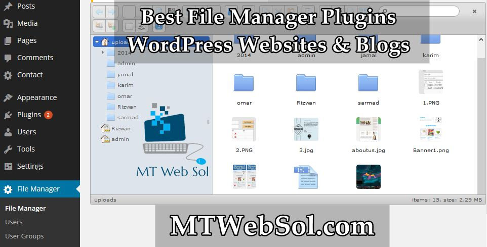Top 4 Best File Manager Plugins for WordPress Sites & Blogs