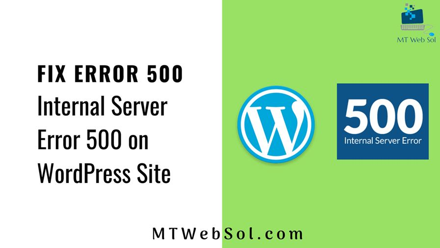 6 Best Ways To Fix Internal Server Error 500 on WordPress Based Websites