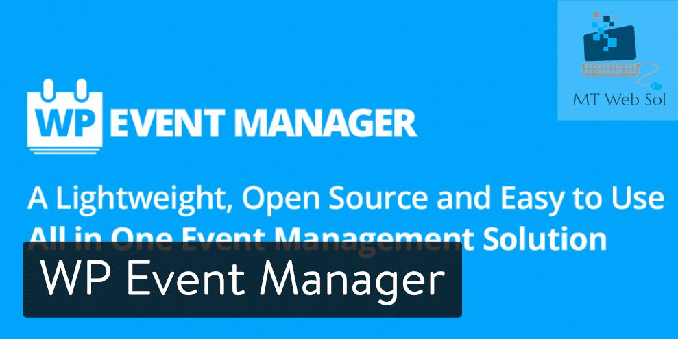 Top 5 Best Event Manager Plugins for WordPress Website Development