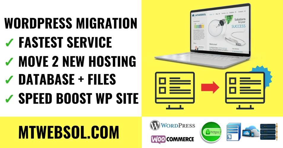 Best WordPress Migration Clone Service - Move New Hosting Cloud Server