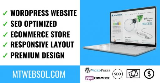Develop SEO Optimized Business WordPress Website
