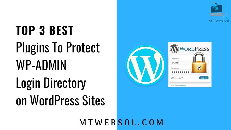Top 3 Best Plugins to Protect WP-Admin Section of WordPress Websites