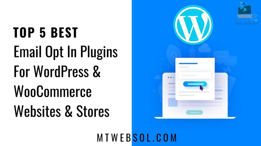 Top 5 Best Email Opt In Plugins for WordPress Websites in 2018