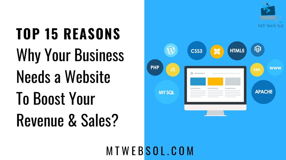 Top 15 Reasons, Why You Need a Business Website in 2020?