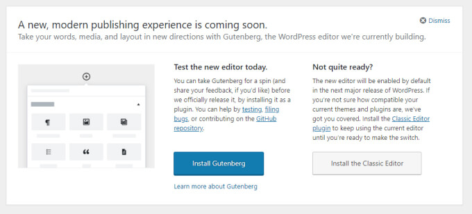 Download WordPress 5.0 on 6th December - What's New in WP v5.0?