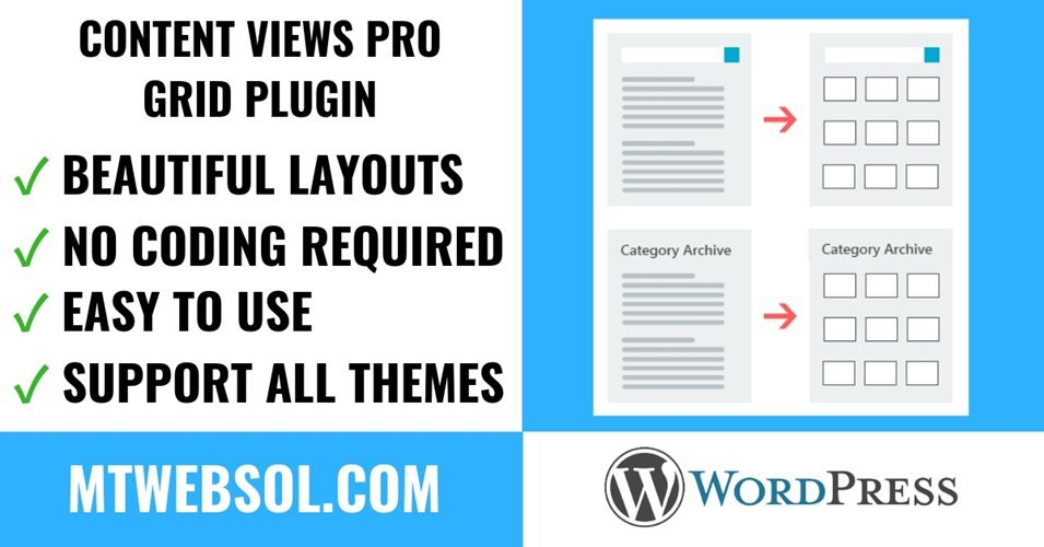 [Content Views Pro Review] Best WordPress Post Grid & List Layouts Plugin