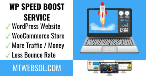 WordPress Speed Optimization - WooCommerce Speed Boost Service